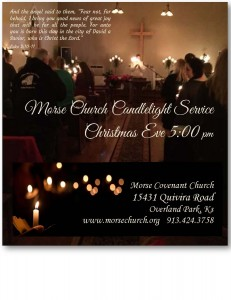 Morse Church Christmas Eve Service 5pm